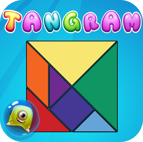 Tangram - Tenta construir todas as figuras.